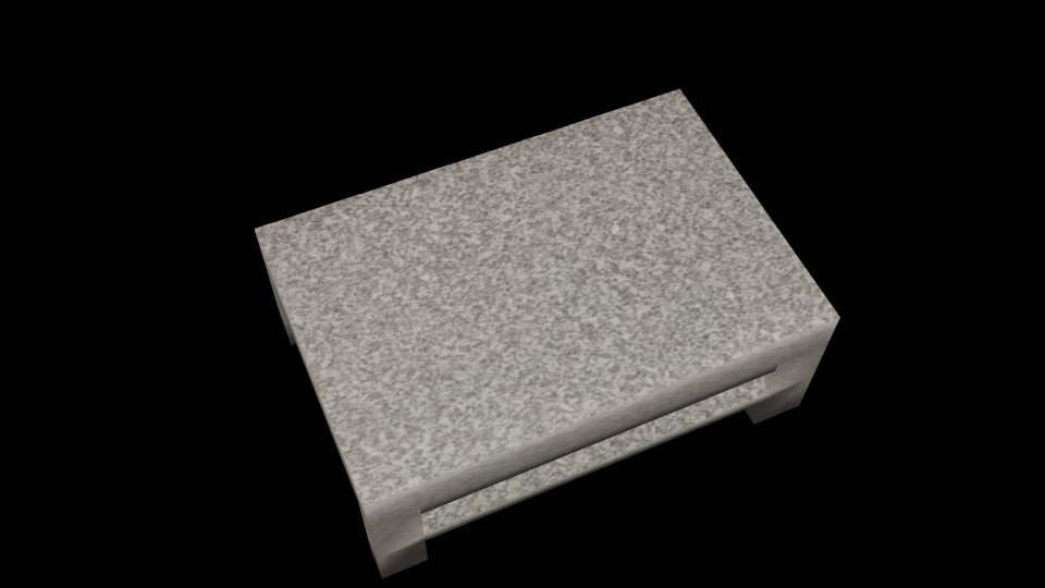 3ds max marble table