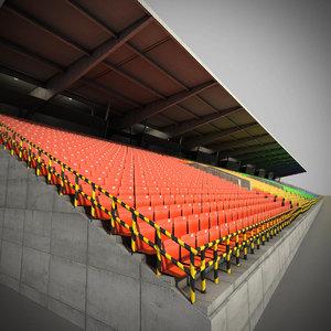 grandstand stadium max