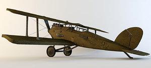 3d max airplane ww1 plane