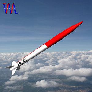obj arcas sounding rocket