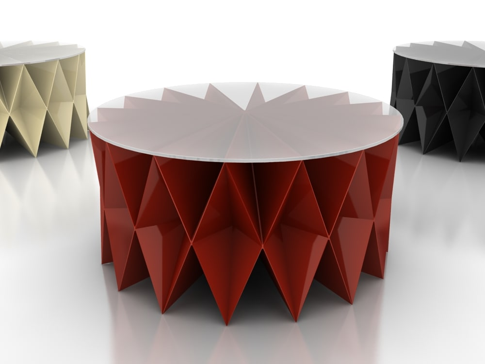 3d model coffee table colletto