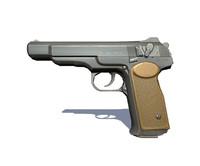 aps pistol 3d model