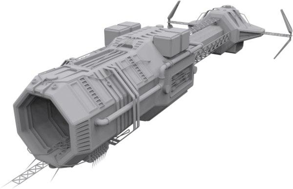 mothership mobile base 3d model