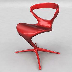 3d elegant chair arredaclick