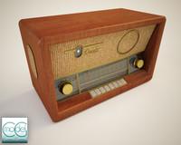 3d model radio
