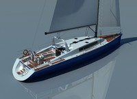 sailing race yacht