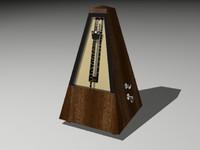metronome 3d model