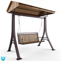 3d swing outdoor model