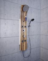 panel shower 3d model