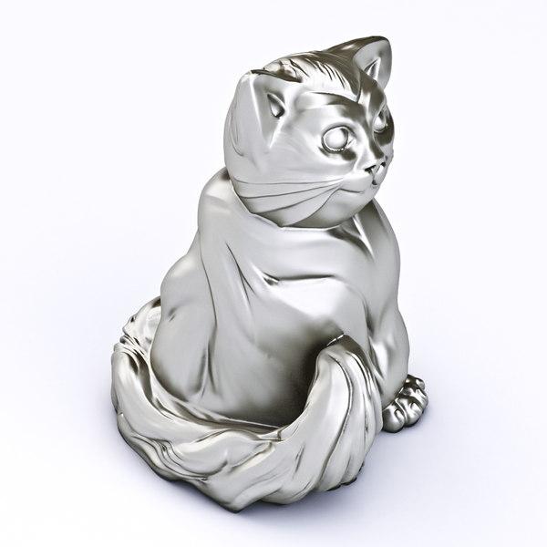 3d fat cat printable