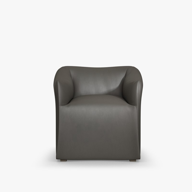 armchair cassina-684 3d model