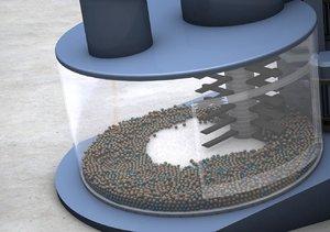 intensivmischer drehboden 3d model