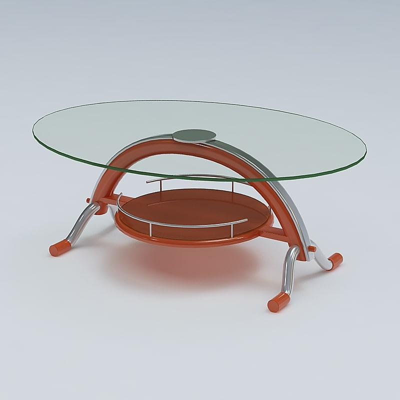 3d model center table