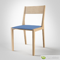 arris dining chair 3d model