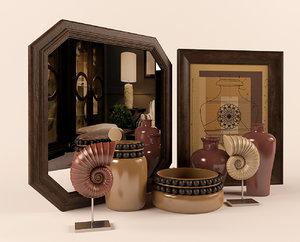 3d decorative marioni model
