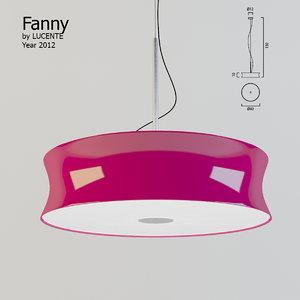 3d fanny lucente