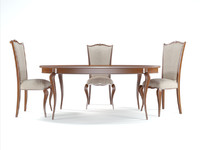 Giorgiocasa Memorie Veneziane chair c16 n table t52 b