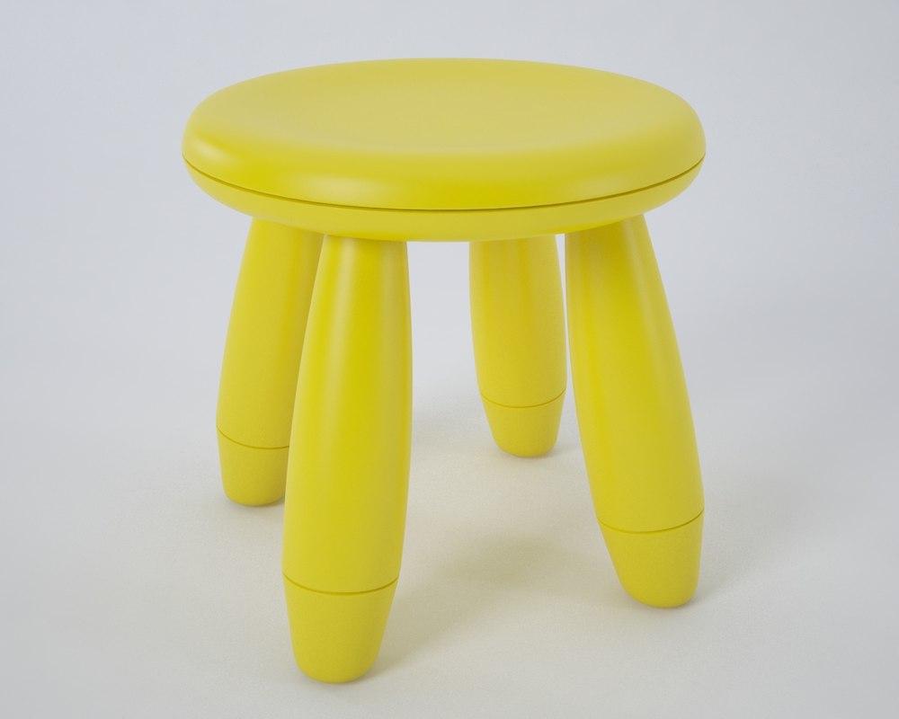 mammut stool 3d max