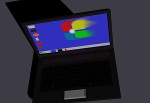 notebook 3d model