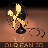 3ds max fan retro