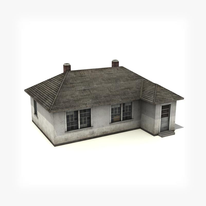3d model house building