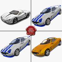 Sport Rigged Cars Collection
