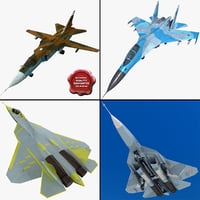 3ds max su jet fighters