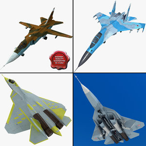 3ds max su jet fighters