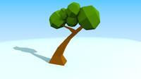 3d tree toon