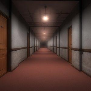 obj hallway office room