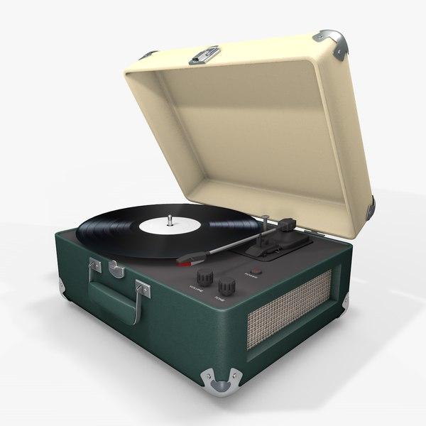 3d model record