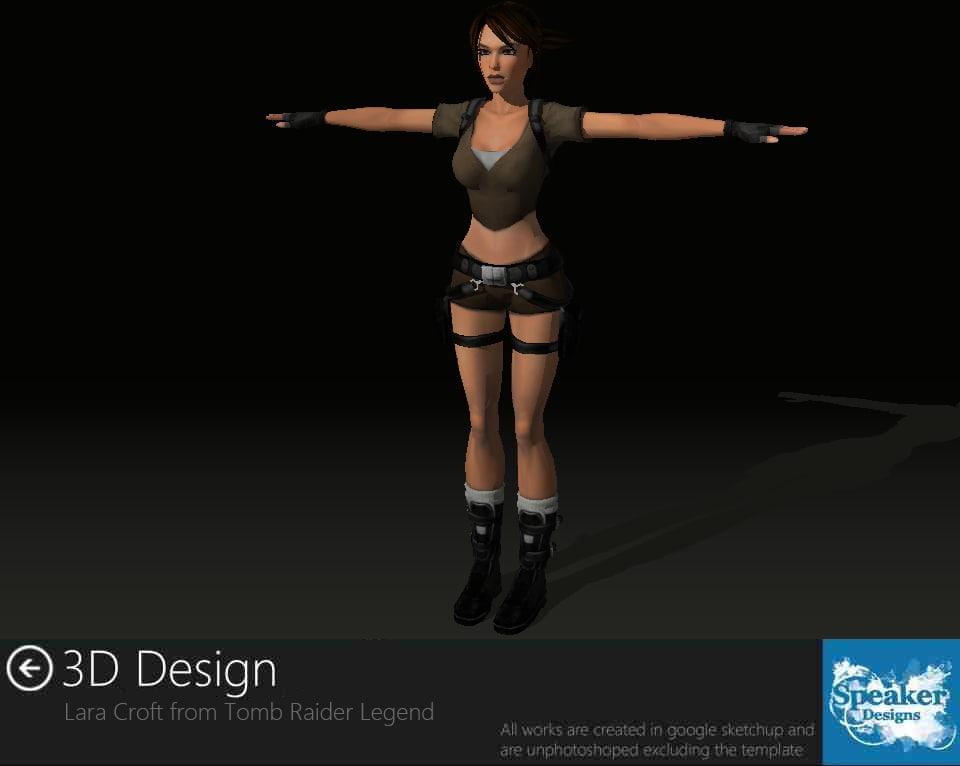 lara croft legend 3d 3ds
