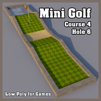 obj mini golf hole