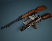 gun 3d model