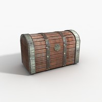 free treasure chest 3d model