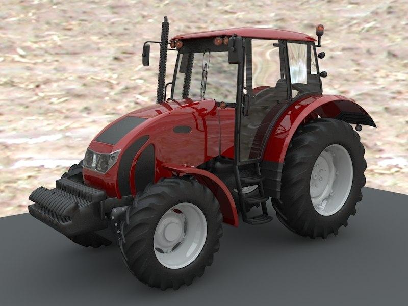 tractor zetor forterra c4d