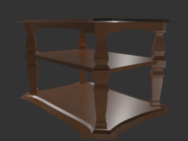 maya wooden table