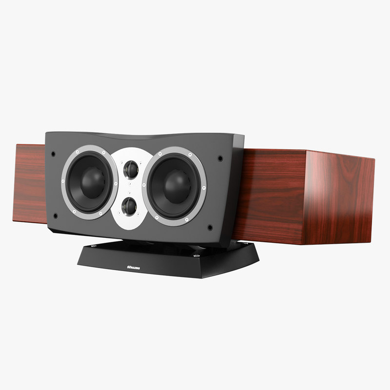 3dsmax dynaudio confidence center speaker