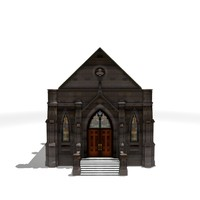 3d cemetery crypt