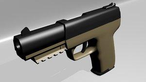 fn herstal seven hand gun blend