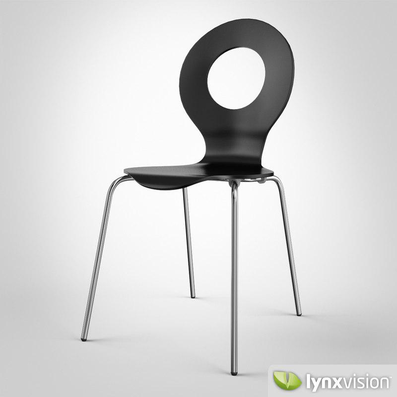 cricket chair t 3d obj