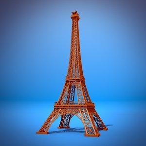 3ds eiffel tower