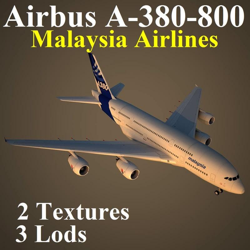 airbus mas 3d model