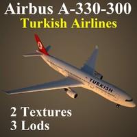 3d max airbus thy