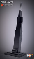 s max lego willis tower