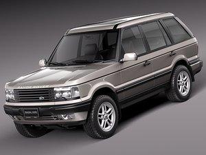 3d model of luxury suv 1994 2002