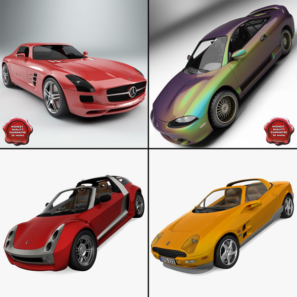 3ds max sport cars 5