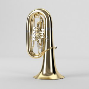 3ds max b-tuba tuba