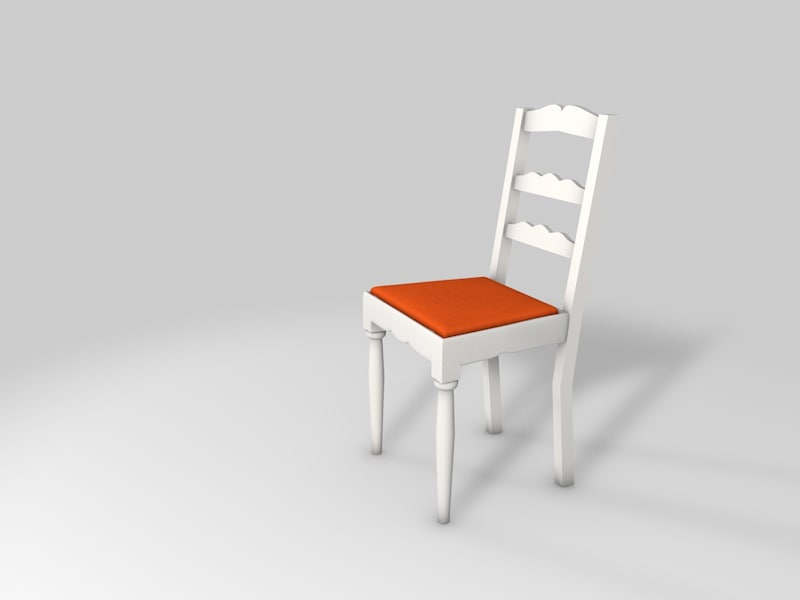 classic chair c4d