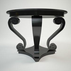 3dsmax cocktail table ralph louren